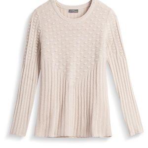 StitchFix 41 Hawthorn cable sweater M